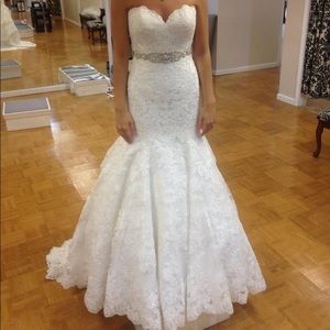 Beautiful Allure Ivory Wedding Gown